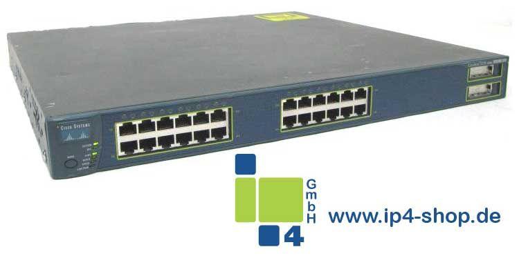 Cisco Catalyst WS-C3550-24-PWR 24 Port 10/100 2 Port 1000 Inline Power