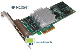 HP NC364T PCI Express Quad Port Gigabit Server Adapter x4 PCI Express REF