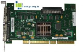 HP LSI22320-HP 64-bit/133MHz Dual Channel UW320 SCSI Host Bus Adapter REF