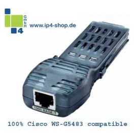 ip4 100% Cisco WS-G5483 1000 Base-T compatible GBIC NEW